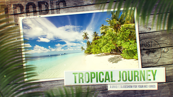 Tropical Journey Slideshow - Download Videohive 20804736