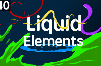 140 Liquid Elements - Download Videohive 13093443