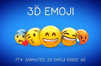 3D EMOJI - Download Videohive 20410223