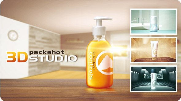 3D Packshot Studio - Download Videohive 18394771