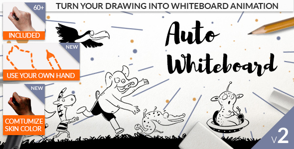 Auto Whiteboard - Download Videohive 20608476
