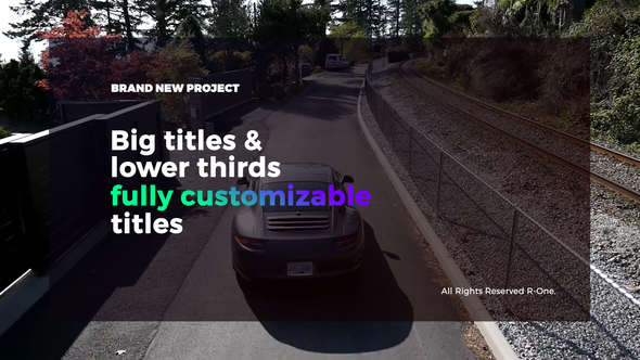 Big Titles & Lower Thirds - Download Videohive 21583784