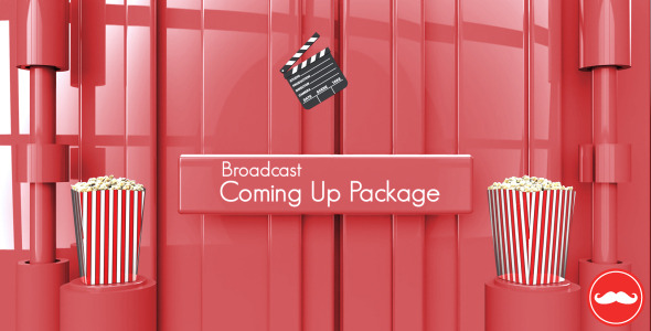 Broadcast Coming Up Next Package - Download Videohive 5217122