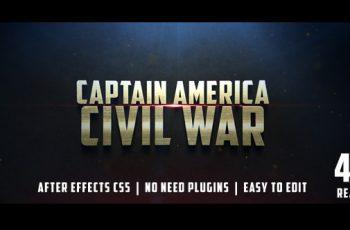 Civil War Cinematic Trailer - Download Videohive 12430722