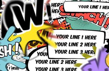 Comics Bubbles Speech Kit - Download Videohive 15362247