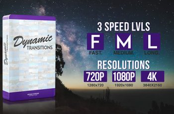 Dynamic Transitions - Download Videohive 19721850