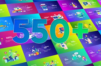 Flat Design Concepts Package - Download Videohive 21197321