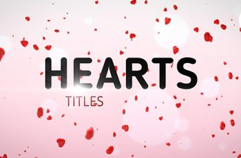 Hearts Titles - Download Videohive 14468402