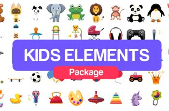Kids Elements Package - Download Videohive 21108015