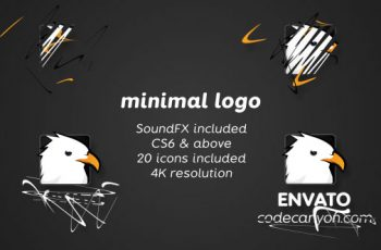 Minimal drawing logo - Download Videohive 20681659