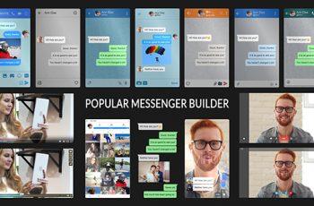 Popular Messenger Builder v2.0 - Download Videohive 19770231