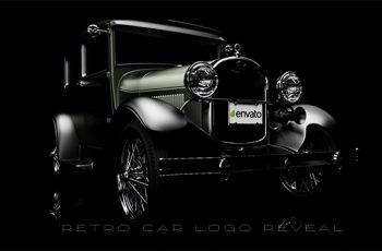 Retro Car Logo Reveal - Download Videohive 18831575