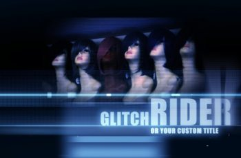 Ride On Glitch - Titles - Download Videohive 1618697