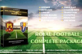 Royal Football Complete Package-Broadcast Design - Download Videohive 17056913