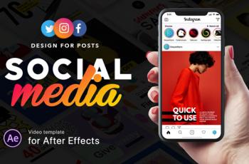 Social Media - Design for Posts - Download Videohive 21371841