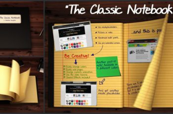 The Classic Notebook - Download Videohive 3537616