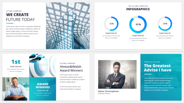 The Ultimo - Corporate Presentation Pack - Download Videohive 21184756