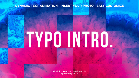 Typo Intro - Download Videohive 20969059