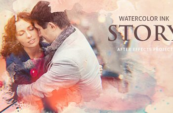 Watercolor Ink Story - Download Videohive 20375614