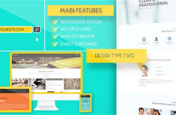 Website Presentation Pack - Download Videohive 8935398