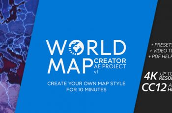 World Map Creator - Download Videohive 21146904