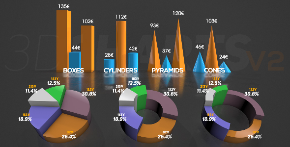 3D Charts v.2 - Download Videohive 16228555