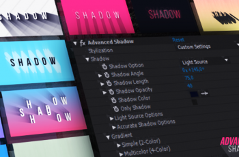 Advanced Shadow - Download Videohive 21222364