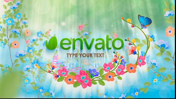 Spring Logo - Download Videohive 10469353