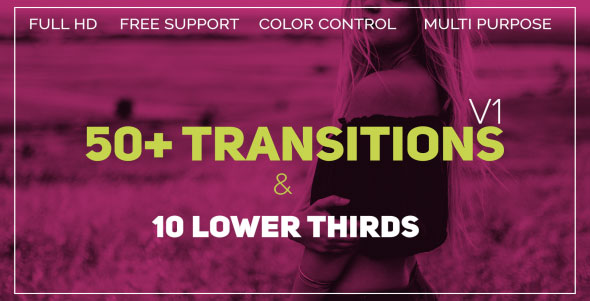 Transitions - Download Videohive 21450502