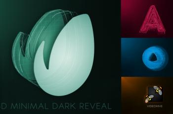 3D Minimal Dark Logo Reveal - Download Videohive 19566740