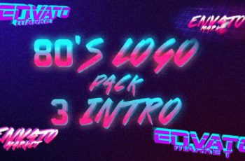 80's Logo Intro Pack 3 in 1 - Download Videohive 19497990