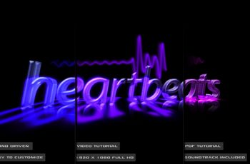 Audio Driven Heartbeat Template - Download Videohive 164173
