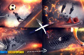 Cinematic Soccer Opener - Download Videohive 20516699