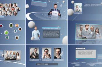 Clean & Simple Corporate Presentation - Download Videohive 8182775