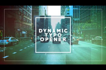 Dynamic Typo Opener - Download Videohive 21698650