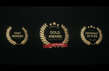 Golden Award - Download Videohive 16995059