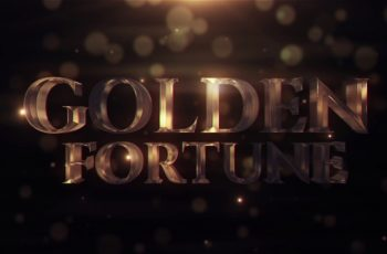 Golden Fortune - Download Videohive 21913924