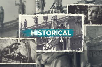 Historical Vintage Documentary Slideshow - Download Videohive 21783704