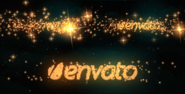 Logo & Text Intro - Glitters - Download Videohive 5328024