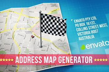 Map - Download Videohive 18227432