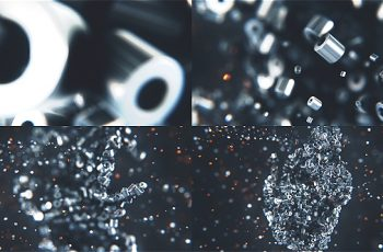 Metalic Particles Logo - Download Videohive 19140068