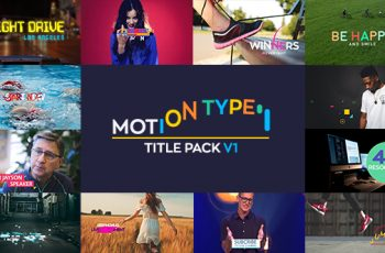 Motion Type - Titles Pack - Download Videohive 20825273