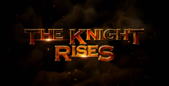The Knight Rises - Cinematic Trailer - Download Videohive 3345066