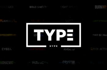 TypeHype - Titles Animation \\ Motion Typography - Download Videohive 21810845