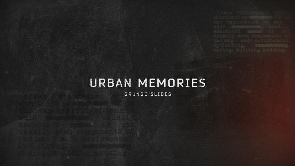 Urban Memories // Grunge Slides - Download Videohive 16848790