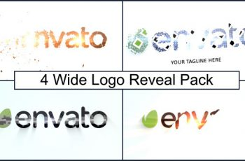 Wide Logo Reveal Pack - Download Videohive 7045874