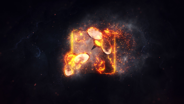 Burning Fire Logo - Download Videohive 21370383