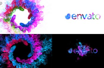 Colors of Particles Swirls Ident - Download Videohive 21069561