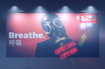 Cyberpunk Billboard - Download Videohive 21494589