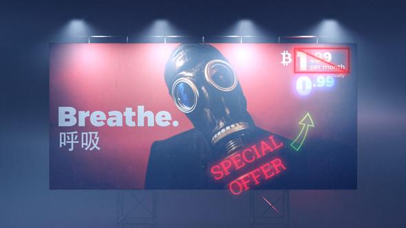 Cyberpunk Billboard - Download Videohive 21494589